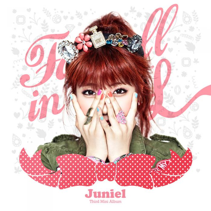 Mini album Fall in L by Juniel