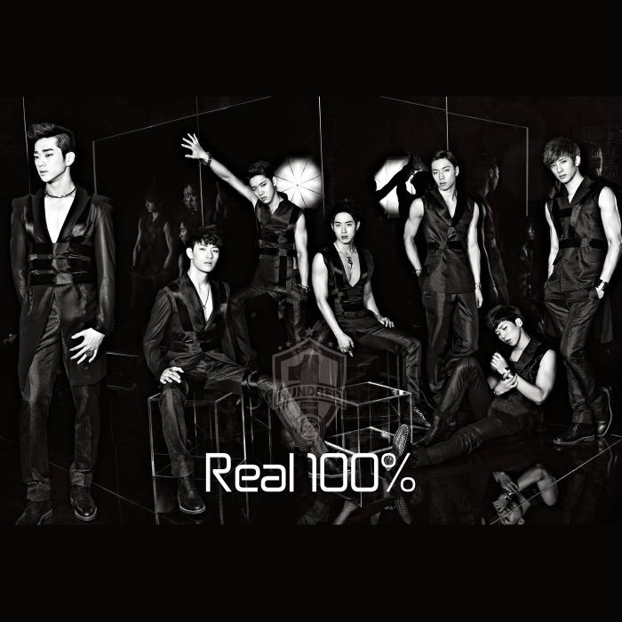 Mini album Real 100% by 100%