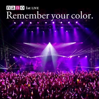Album Remember your color. by nano