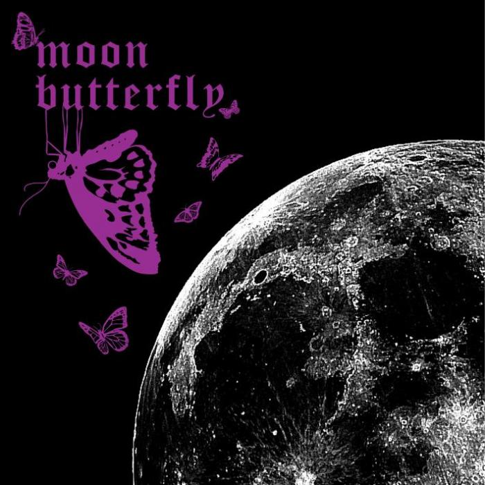 Single Moon Butterfly by Kimeru