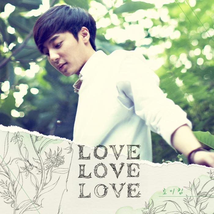 Album Love Love Love by Roy Kim