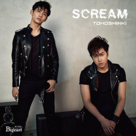 Single SCREAM by Tohoshinki