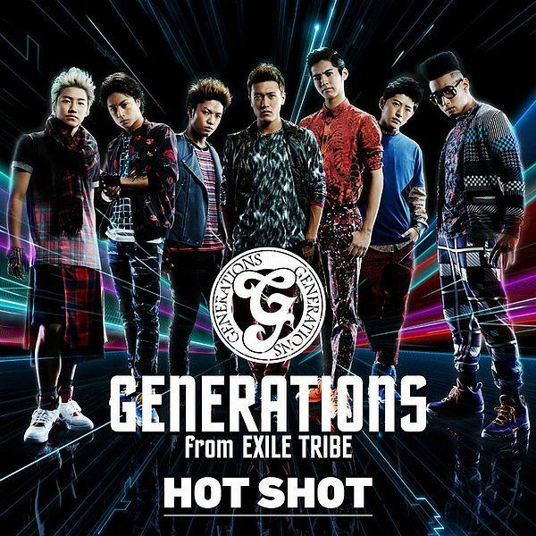 Single HOT SHOT by GENERATIONS