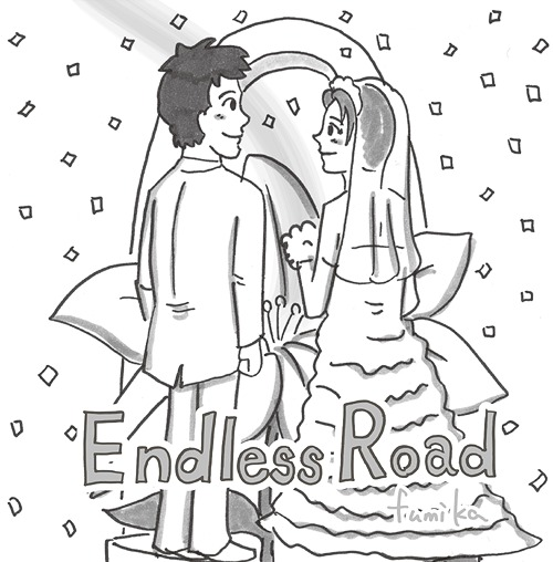 Single Endless Road by fumika