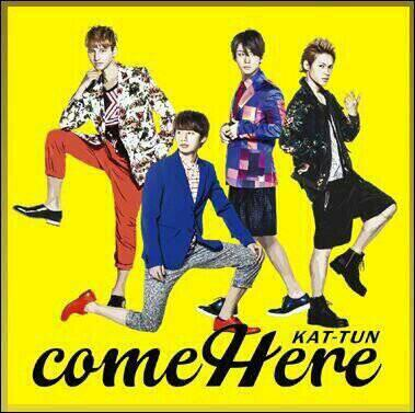 Album come Here by KAT-TUN