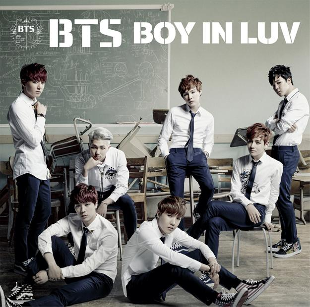 Single Boy In Luv -Japanese Ver.- by BTS