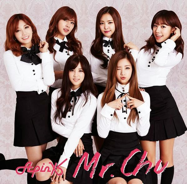 Single Mr. Chu(Japanese Ver.) by APink