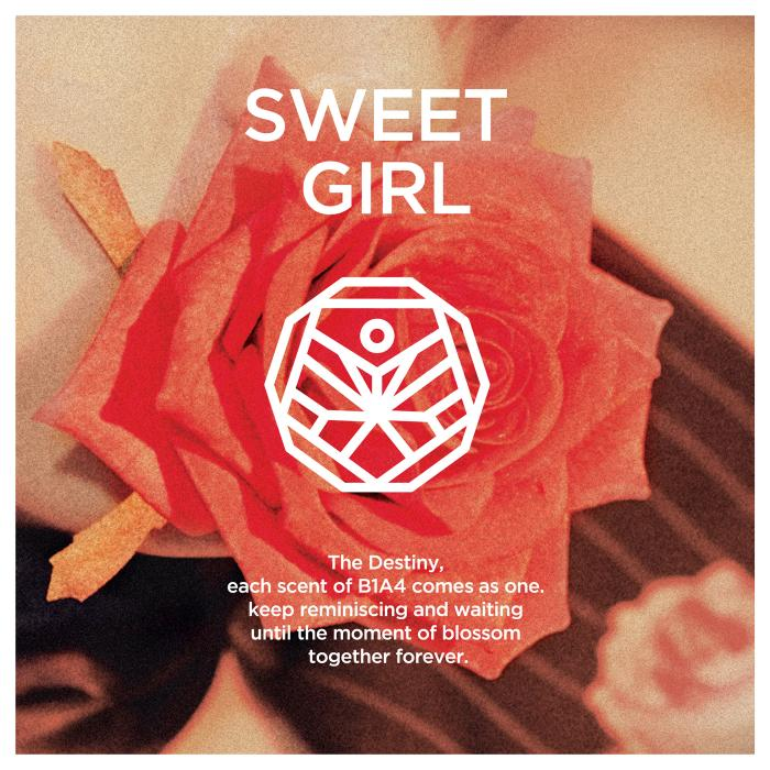 Mini album Sweet Girl by B1A4