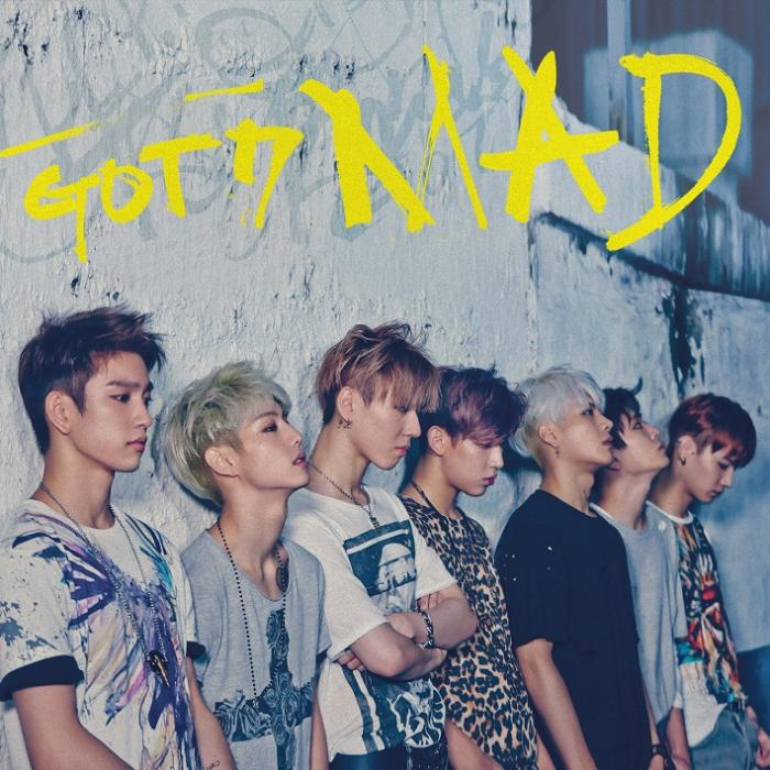 Mini album MAD by GOT7