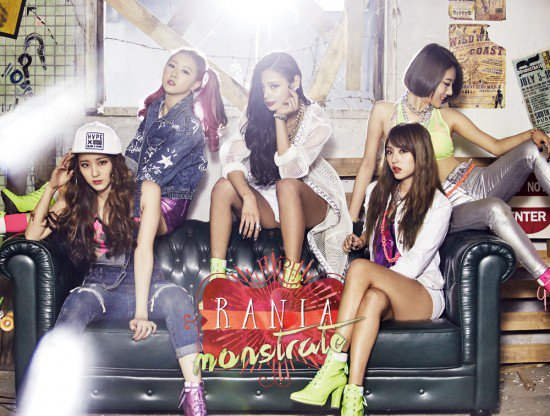 Mini album Demonstrate by RaNia