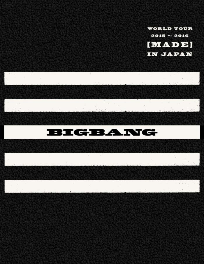 Album BIGBANG WORLD TOUR 2015~2016 [MADE] IN JAPAN by Big Bang