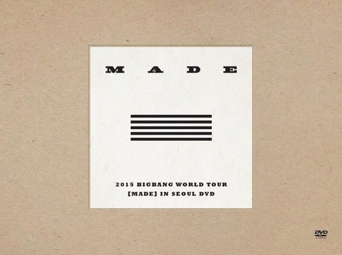 Album 2015 BIGBANG WORLD TOUR [MADE] IN SEOUL by Big Bang