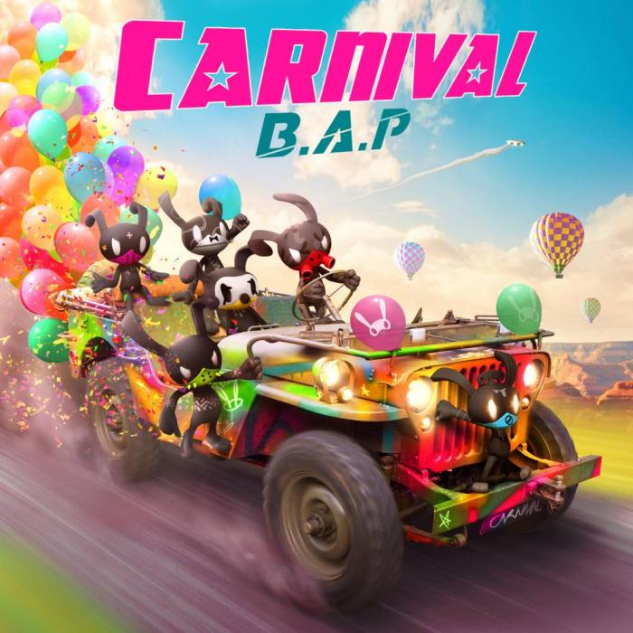 Mini album CARNIVAL by B.A.P