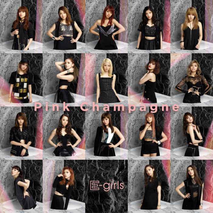 Single Pink Champagne by E-Girls