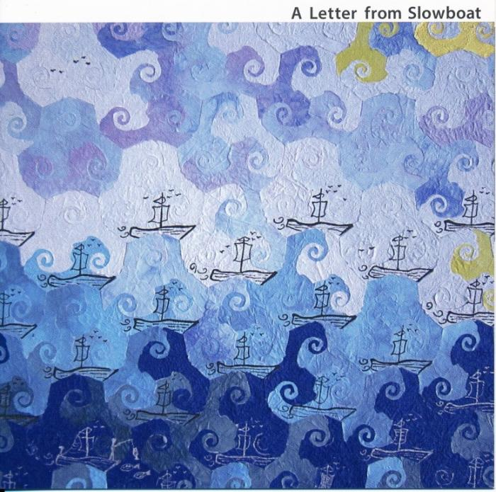 A letter From Slowboat (album cover for deceased japanese jazz