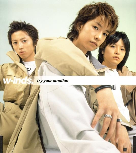 Single try your emotion by w-inds.