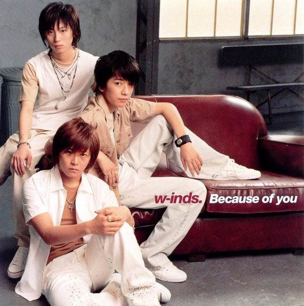 Single Because of you by w-inds.