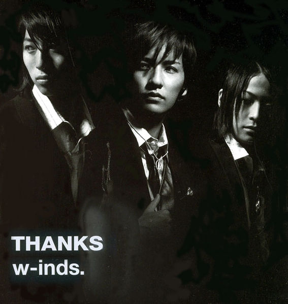 Album Thanks by w-inds.