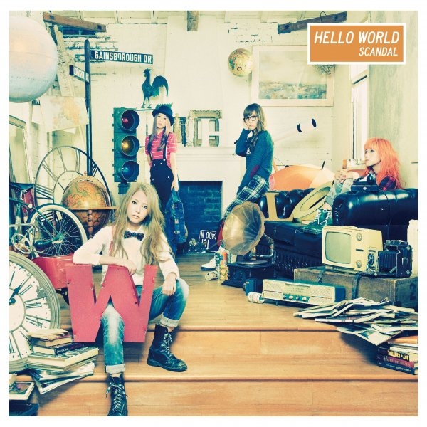 Album HELLO WORLD by SCANDAL