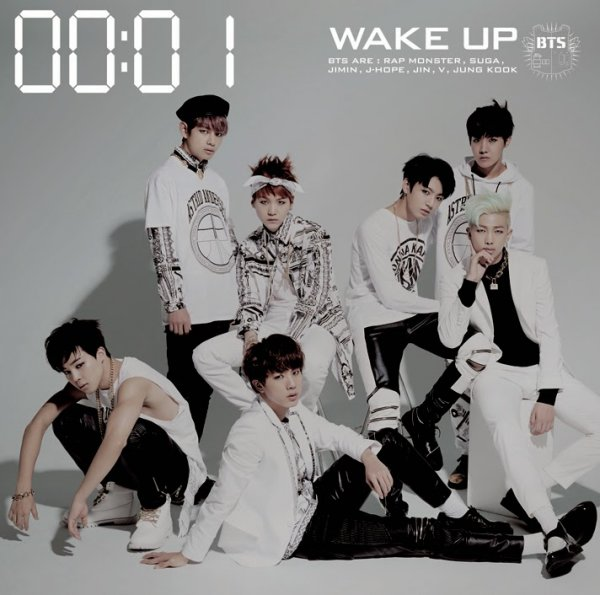 Album Wake Up by BTS