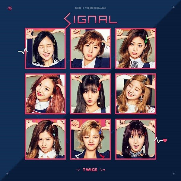 Mini album SIGNAL by TWICE