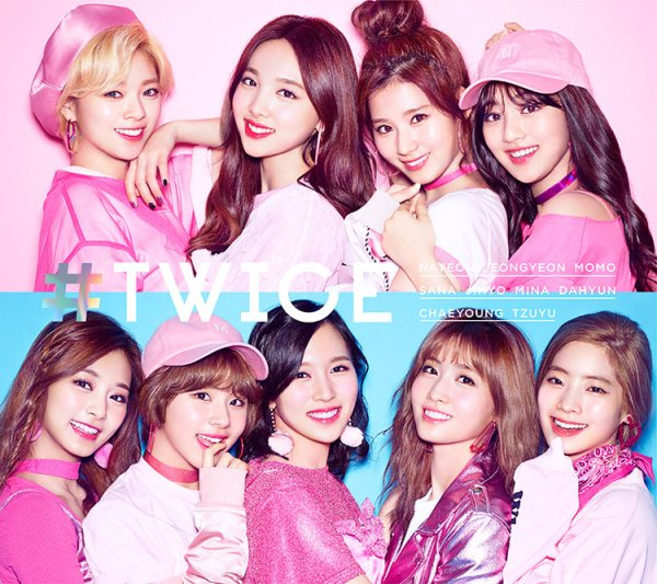 Mini album #TWICE by TWICE
