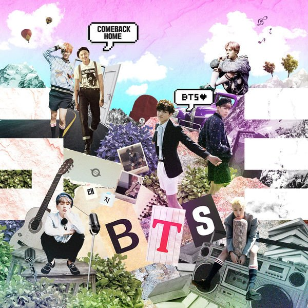 Single Come Back Home by BTS