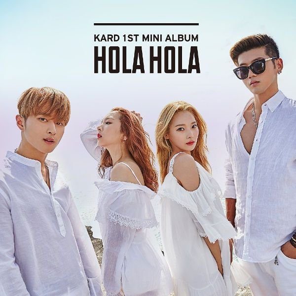 Mini album Hola Hola by K.A.R.D