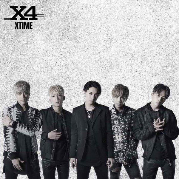 Mini album XTIME by X4