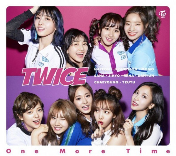 Single One More Time (Japanese) by TWICE