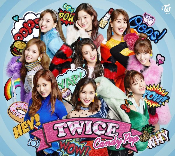 Single Candy Pop by TWICE