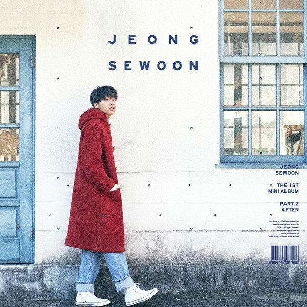 Mini album THE 1ST MINI ALBUM PART.2 `AFTER` by Se Woon