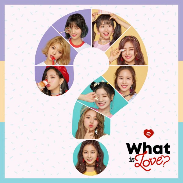 Mini album What Is Love? by TWICE