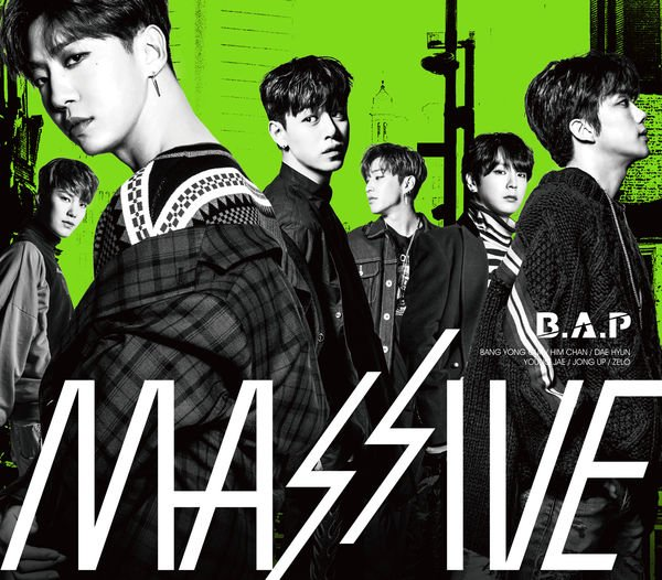 Album MASSIVE (Japanese) by B.A.P