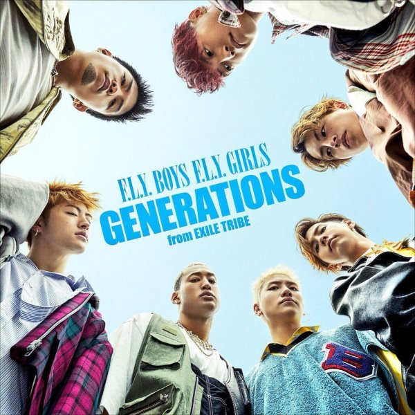 Single F.L.Y. BOYS F.L.Y. GIRLS by GENERATIONS
