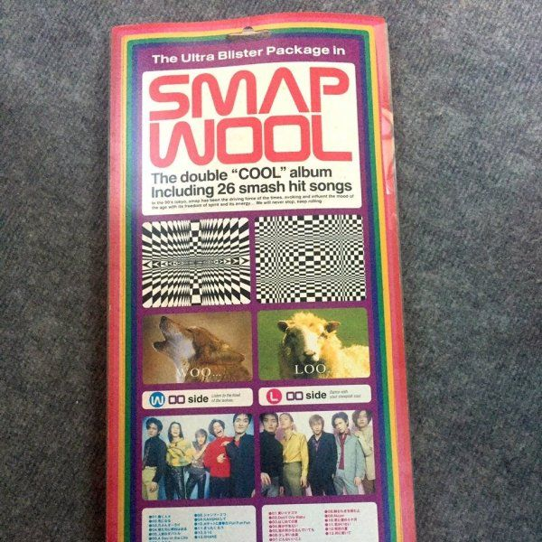 Album Smap WOOL by SMAP