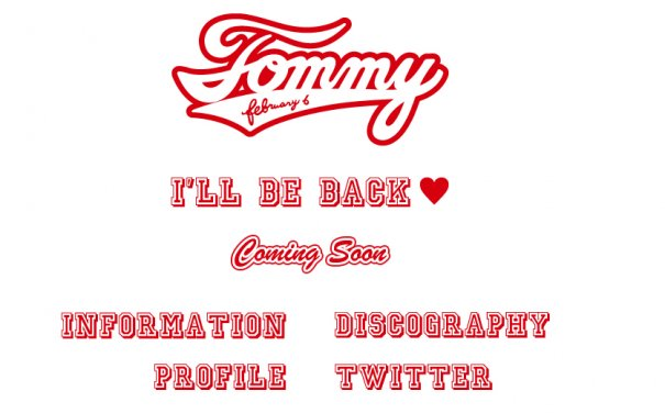 [Jpop] A Little Update On Tommy February6