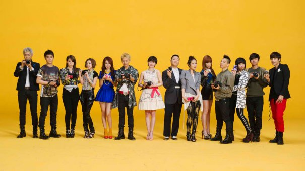 YG Family's Nikon Commercial Is Out