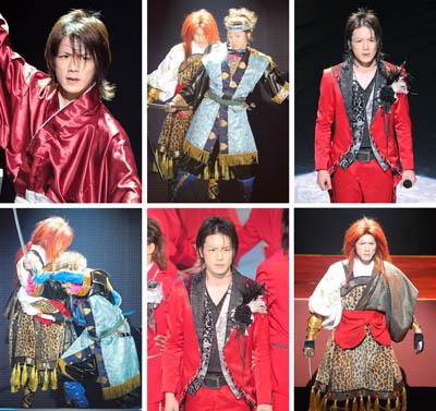 [Jpop] Hideaki Takizawa - 10 Costume Changes Within 15 Minutes!