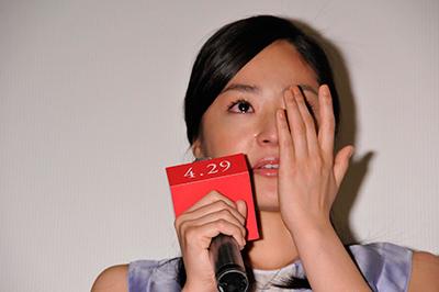 Inoue Mao Moved To Tears By Mika Nakashima