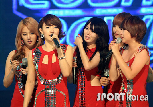 4minute Wins Mnet's M! Countdown!