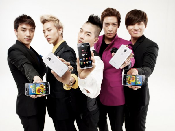 [UPDATED] Big Bang Photos for LG Optimus Big CF