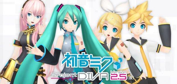 Jpop A First Look Hatsune Miku Project DIVA Ver25