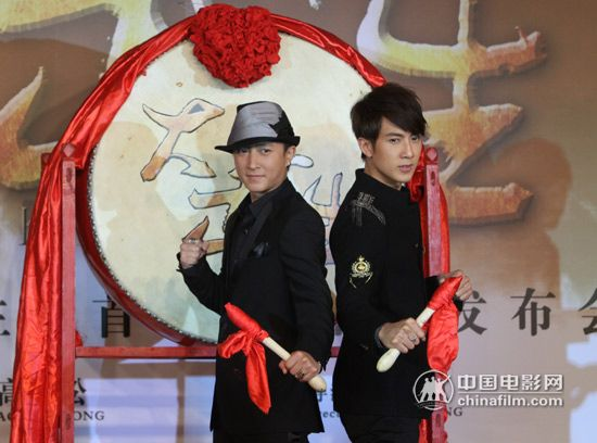 Han Geng and Wu Chun's Interview With China Movie News