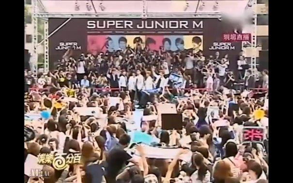 Super Junior M's Autograph Signing Event Attracts Over 4000 Fans