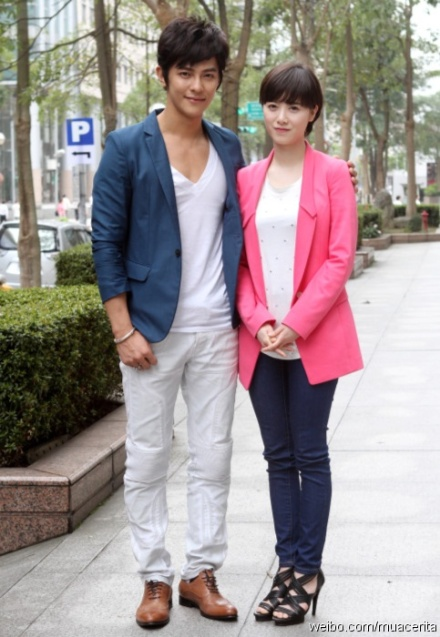 Jiro Wang Falls On Top Of Goo Hye Sun Filming Absolute Boyfriend