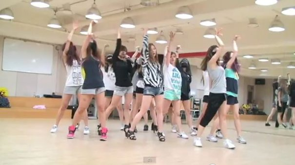 Sunny Hill Shares Practice Video for