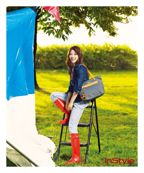 Park Shin Hye Goes to a Music Festival for Instyle