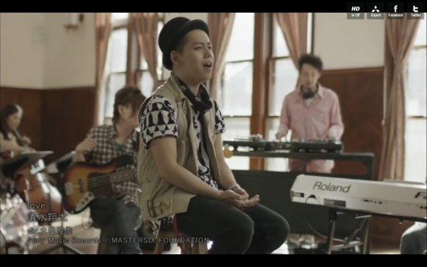 "[Jpop] Shota Shimizu Reveals ""love"" PV"
