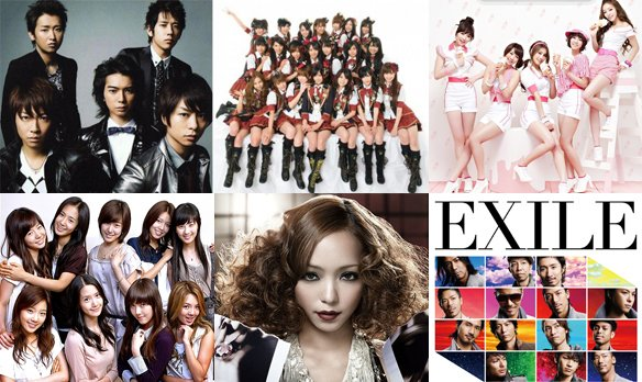 Oricon Reveals How Much Money Artists Made in First Half of 2011